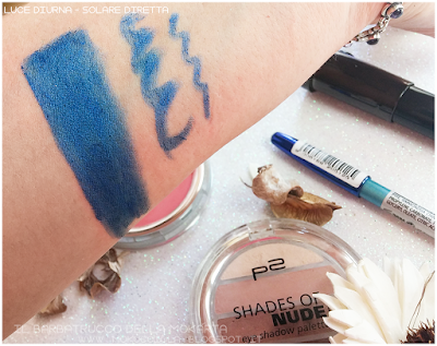 swatch FANTASTIC CHROME KAJAL - METALLIC LAPIS N 040 p2 cosmetics