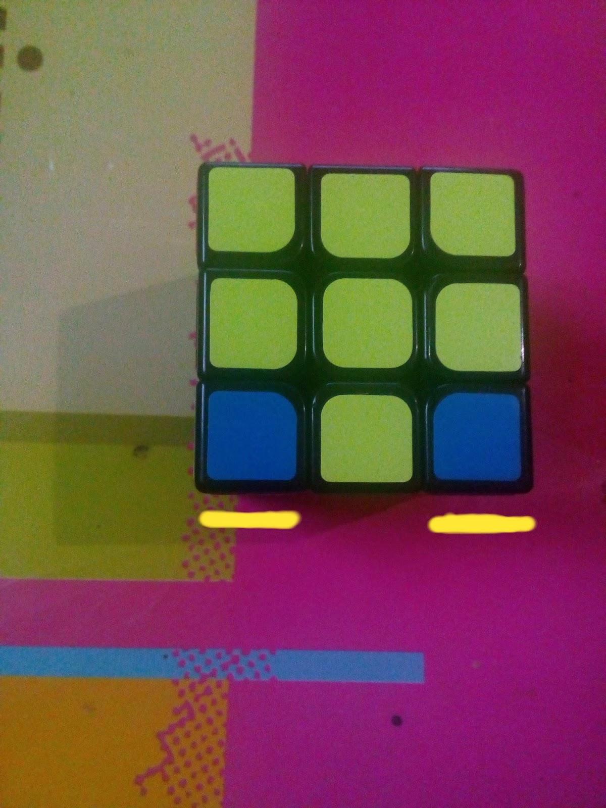 CARA MENYELESAIKAN RUBIK: Rumus Rubik 3x3 : 2 LOOK OLL ...