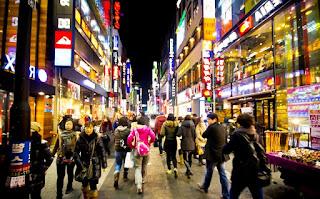 Lokasi Wisata Korea Selatan - Myeongdong