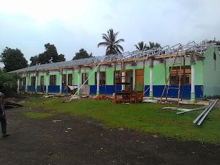 Rehab Sekolah SDN 2 Kotabumi Tengah Barat Diduga Salahi Aturan
