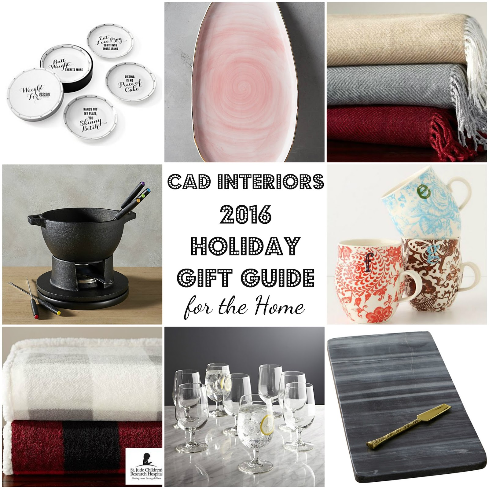 home decor holiday gift guide christmas entertaining essentials