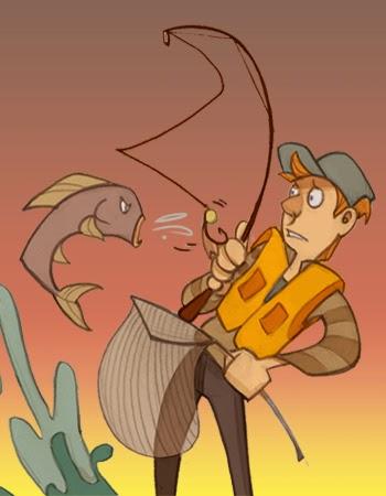 Histoire de pêche, Daniel Lefaivre, blogue de pêche, pêche truite, Pas chanceux à la pêche