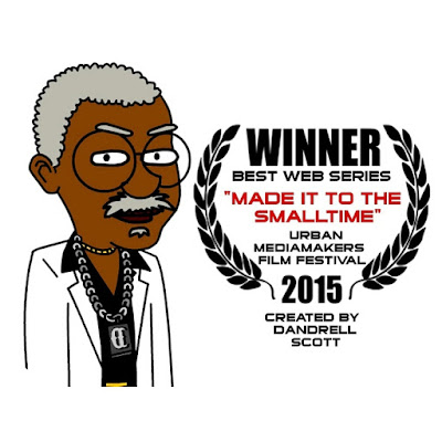 NEWS: Dandrell Scott Wins At The Urban Mediamakers Film Festival