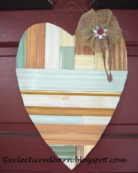 Eclectic Red Barn:  My Unordinary Valentine!