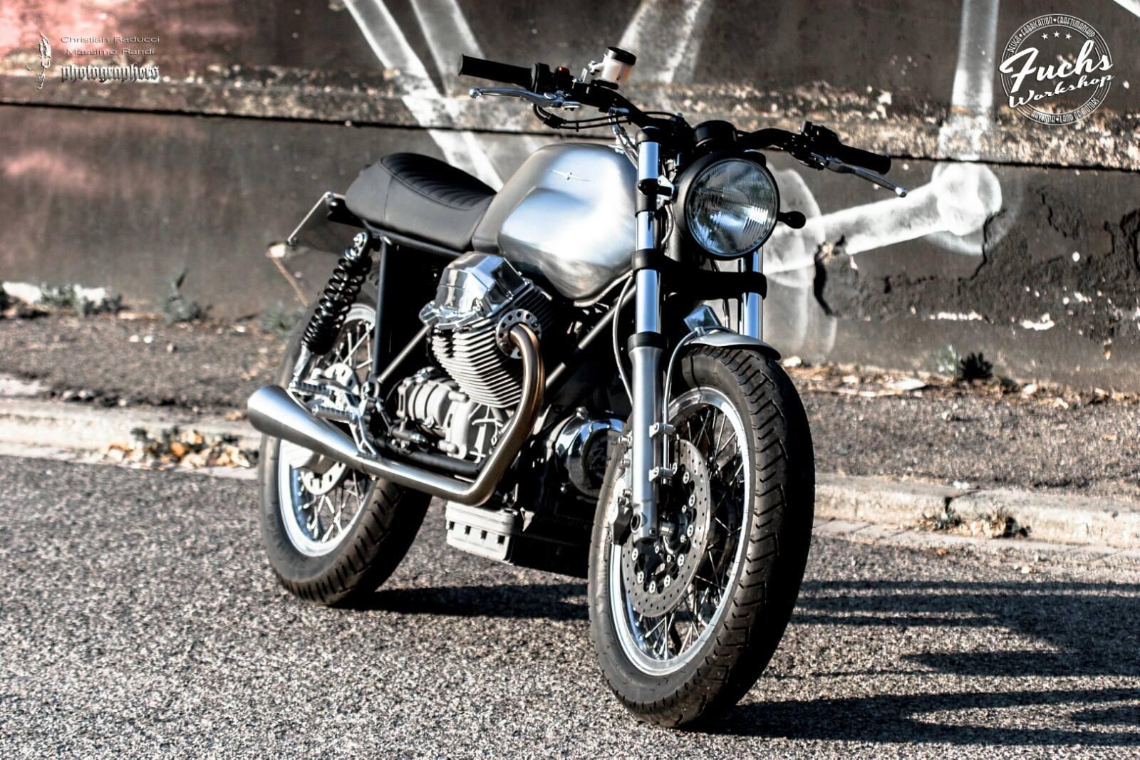 Racing Cafè: Moto Guzzi by Fuchs Workshop