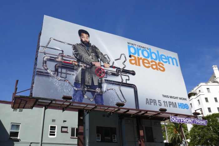 Wyatt Cenac Problem Areas season 2 pipes billboard