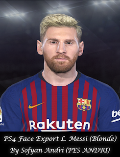 PES 2018 Faces Lionel Messi By Sofyan Andri