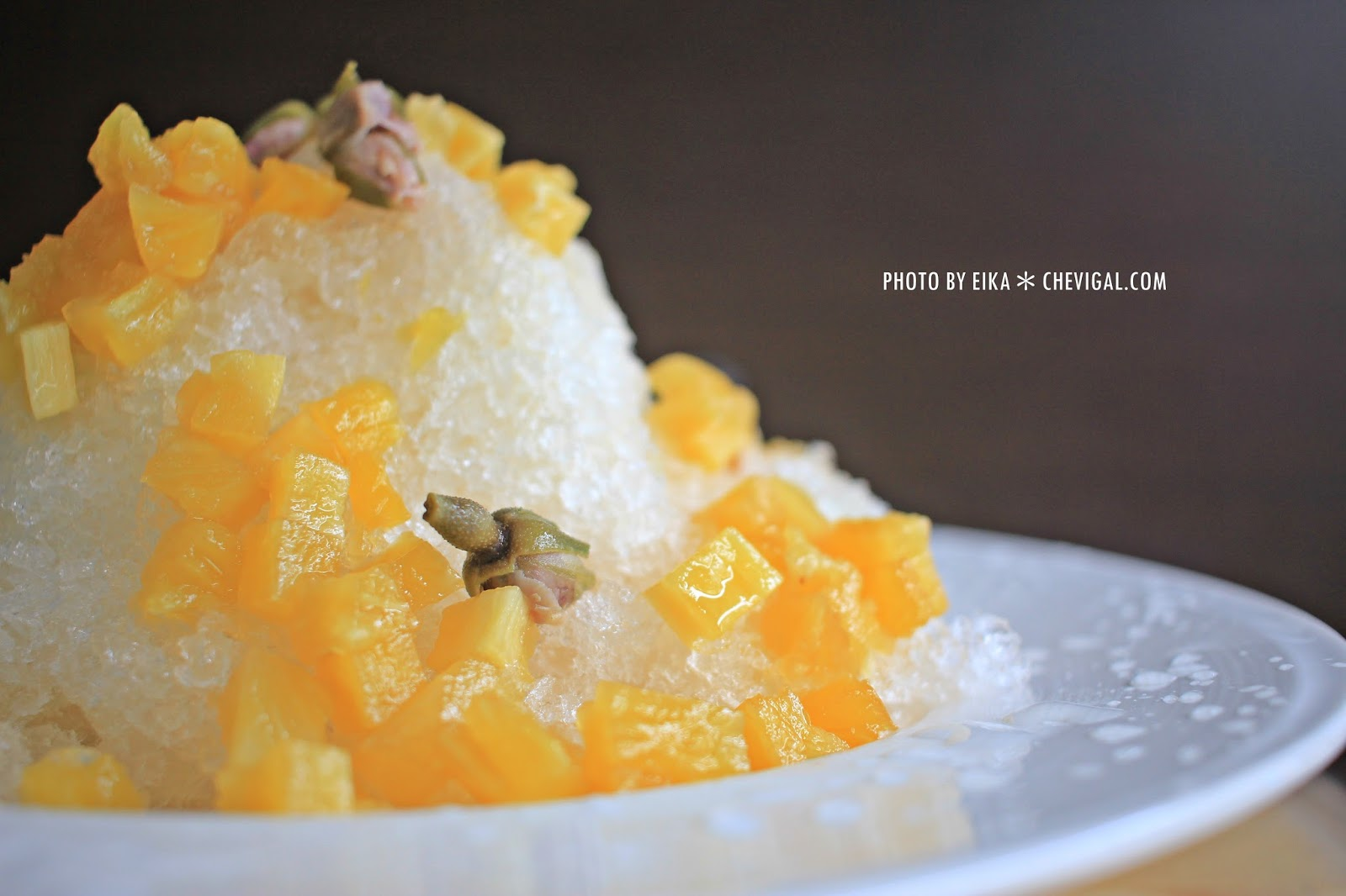 IMG 0144 - 台中烏日│蔡冰甜品。雪山上的愛情最純粹。全台獨有的鳳梨玫瑰冰。等你來感受芬芳原味