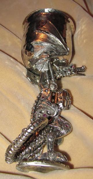 Rantings Of Insane Libertarian Steampunk Dragon Goblet