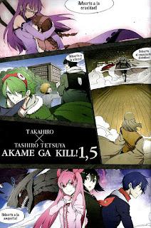 "Reseña de ""Akame ga Kill!"" (アカメが斬る!) vol. 1,5 de Takahiro y Tetsuya Tashiro - Norma Editorial"