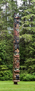Sitka National Historial Park, Totem Trail