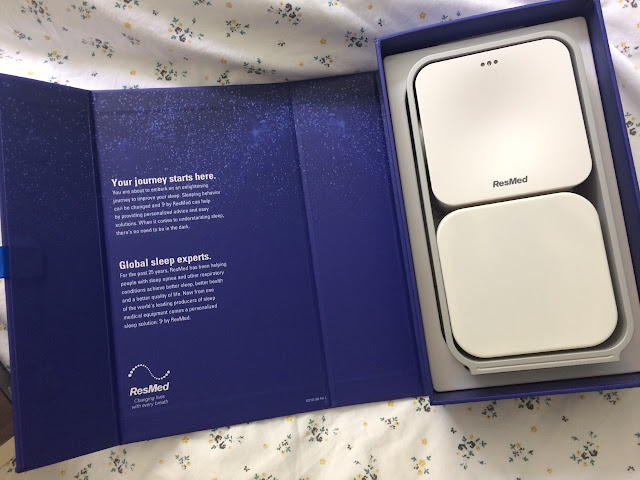 Boxed sleep device