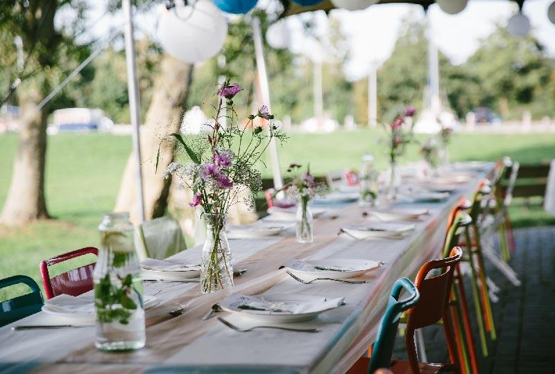 decorazioni tavola estate low cost