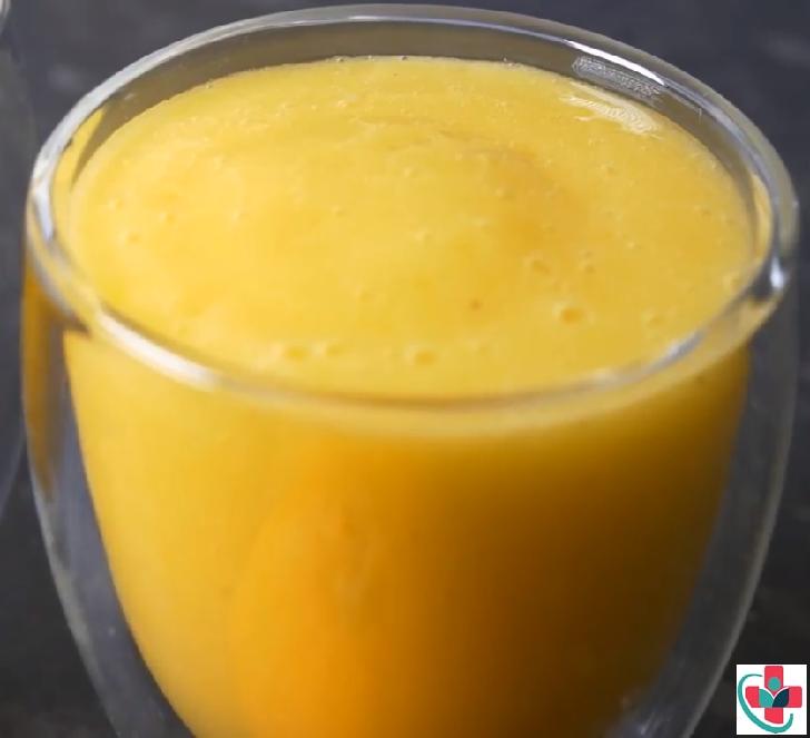 Healthy Sugar Free Mango, Banana, Apple and Orange Smoothie Recipe