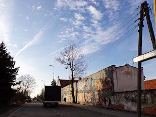 Wrocław graffiti na murze