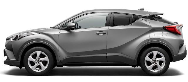 Toyota C-HR - concorrente do HR-V