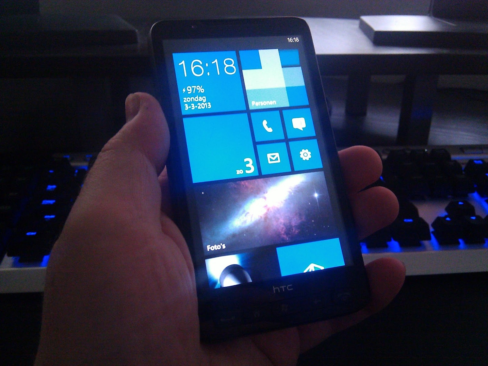 activesync htc hd2 windows 7