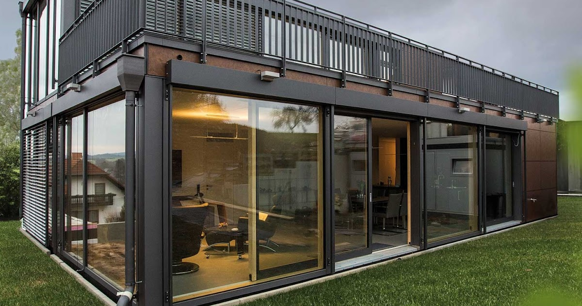 Modern German Modular Buildings Prefab Homes And Offices