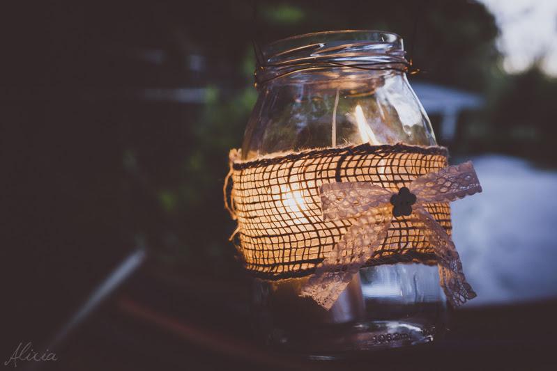 Lanterne Da Giardino Fai Da Te : Alixia cafè come fare lanterne shabby chic con dei barattoli di