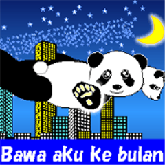 Love Love Panda in Indonesian!