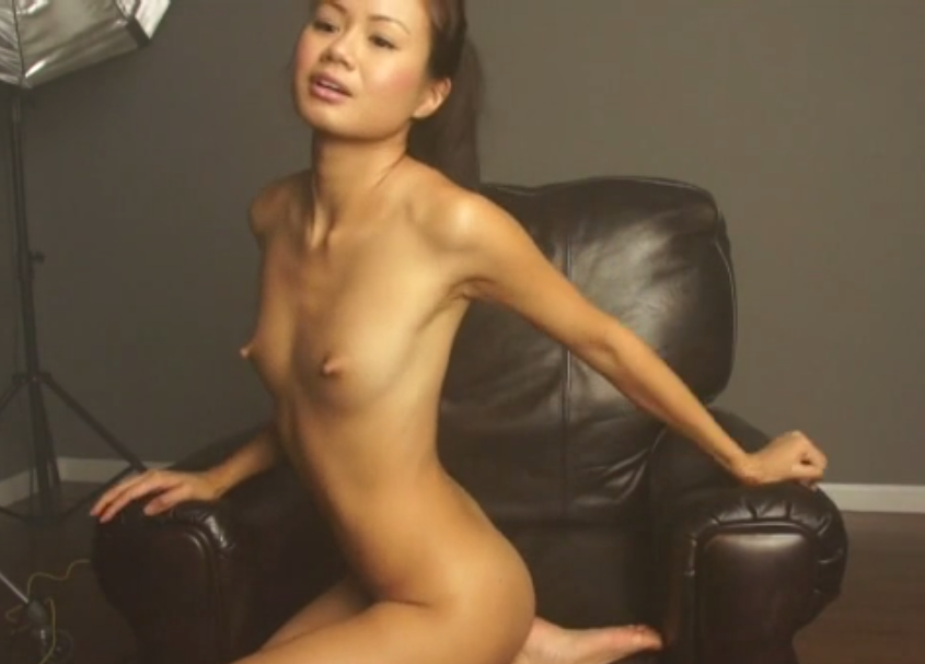 Beautiful Amateur Asian Model Nude Photoshoot - Barurotero -2370