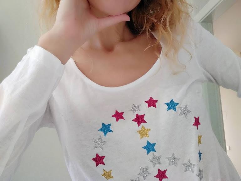 tutorial facil decoracion camiseta