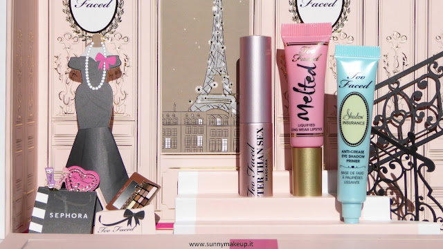 Too Faced - Le Grand Palais. Cofanetto natalizio 2015.