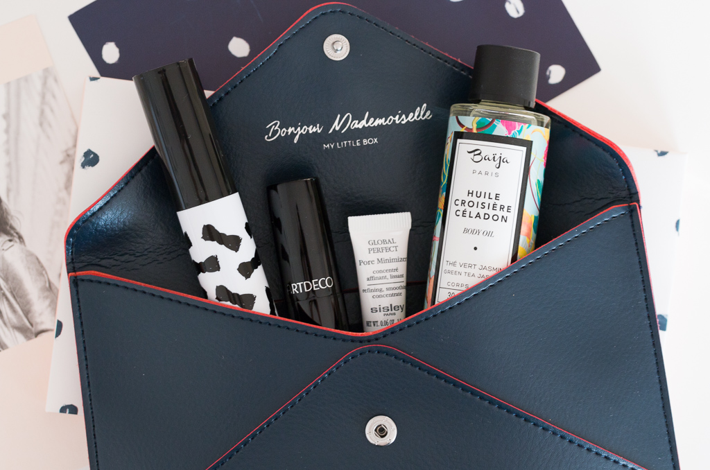 My Little Box Mademoiselle September 2016 Claudie Pierlot Portemonnaie mit Kosmetik