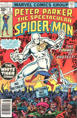 Spectacular Spider-Man #9, the White Tiger