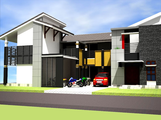 Desain Rumah Kost Luas Tanah 200 M