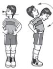 Latihan kelentukan otot leher : Kebugaran Jasmani