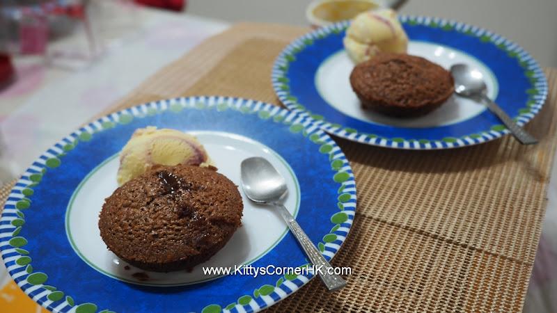 Molten Chocolate Cake 巧克力熔岩蛋糕 自家烘焙 食譜 home baking recipes