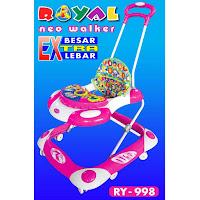 Baby Walker Royal RY998 Neo Baby, Ayunan & Dorongan