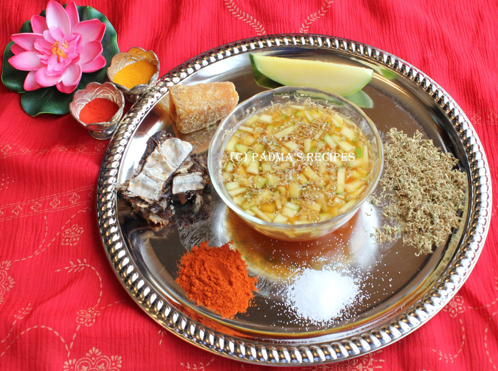 Padma S Recipes Ugadi Pachadi And Ugadi Recipes