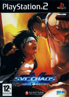 SVC Chaos SNK vs Capcom PAL PS2