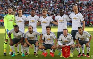 Ibrahimovic Cetak Gol Perdana untuk Manchester United