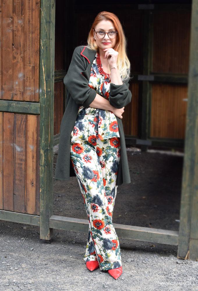 Tipps zum stylen, Pyjama Look