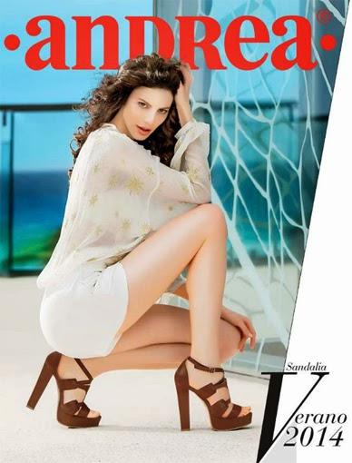 Catalogo sandalias Andrea verano 2016