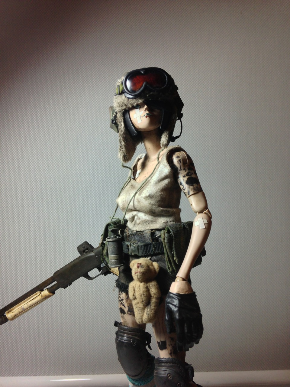 Mercenary Garage Tank Girl