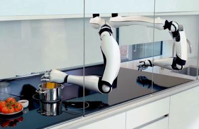 Ecco il primo chef robotico, può cucinare fino a 100 piatti diversi