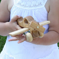 Lotes Toys Wooden Airplane II (FY02)