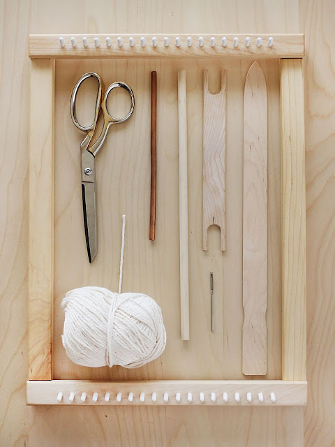 telar de madera de abeautifulmess
