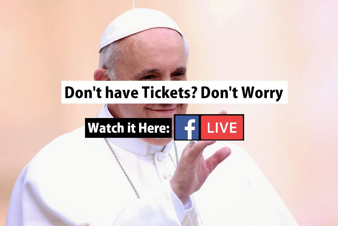 Papal Mass LIVE