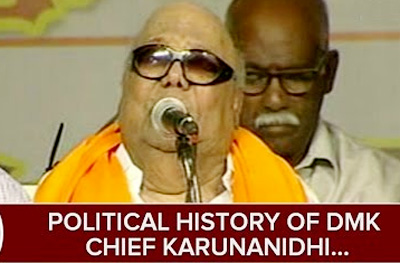 Political History of DMK Chief Karunanidhi