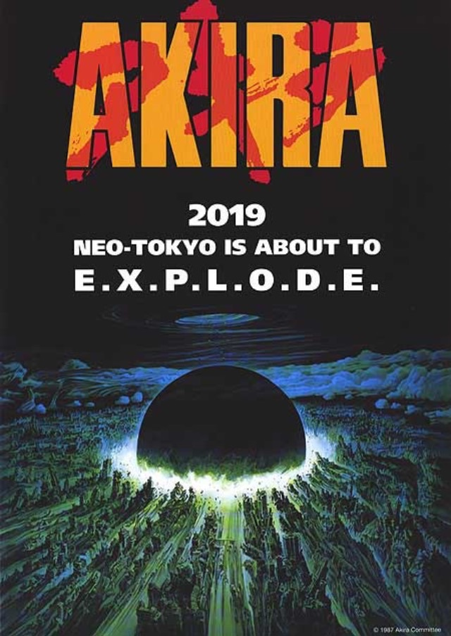 It's 2019 and Neo Tokyo is about to explode.