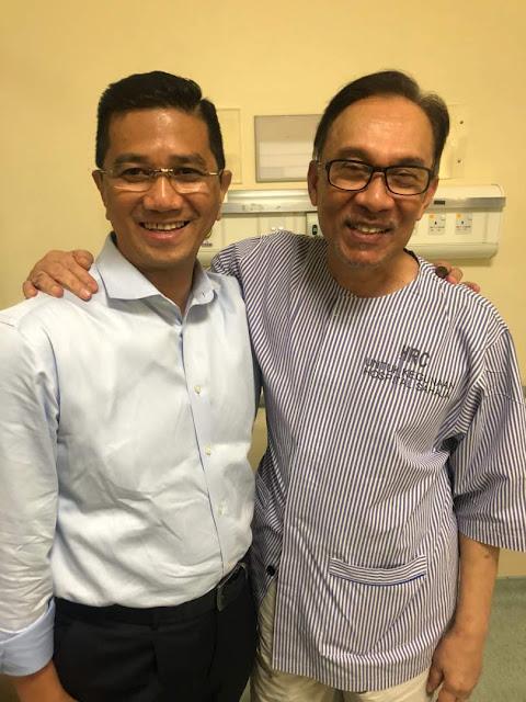 Gambar Terkini Datuk Seri Anwar Ibrahim Selepas PH Menang