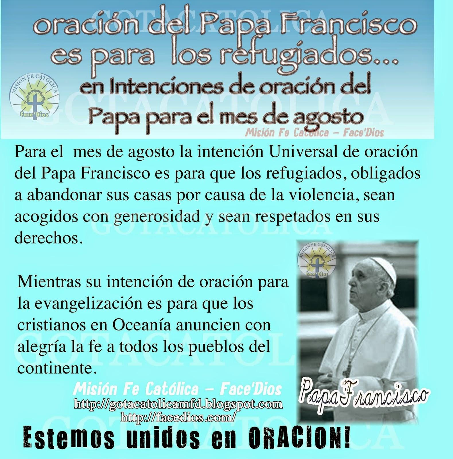 Gota Católica Gotas De Dios Oración Del Papa Francisco Es