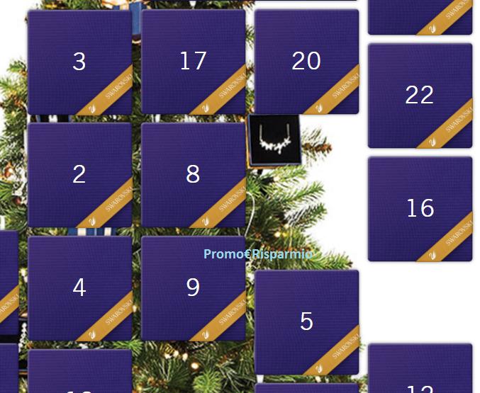 Calendario Avvento Swarovski.Promo Risparmio Calendario Dell Avvento Swarovski Vinci
