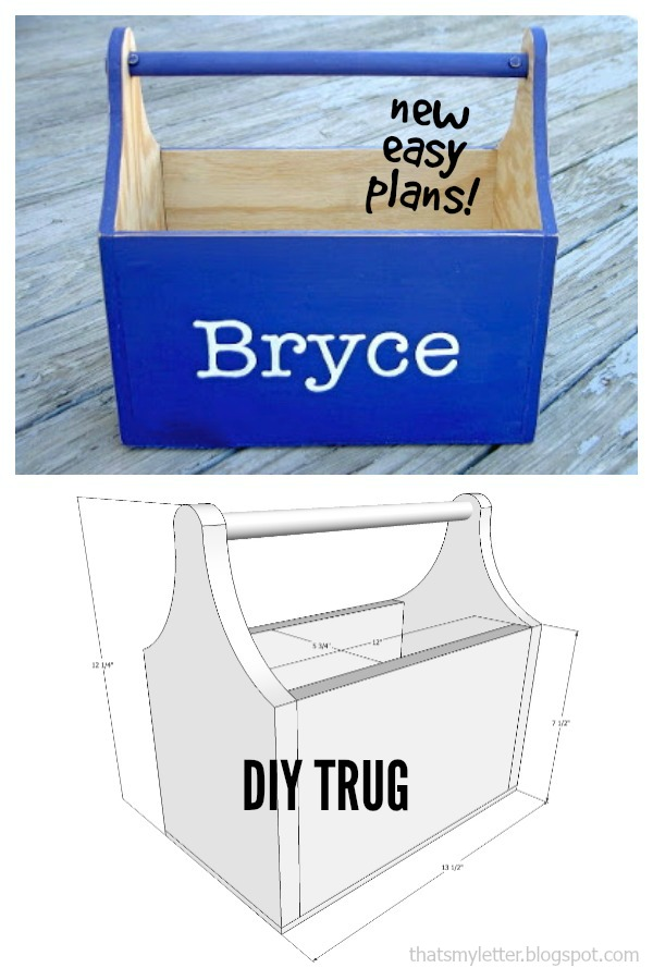diy wood trug free plans