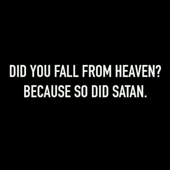 funny quotes - funny text image - did you fall from heaven ...